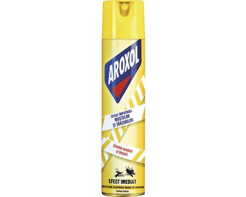 Spray AROXOL impotriva mustelor si tantarilor 400 ml