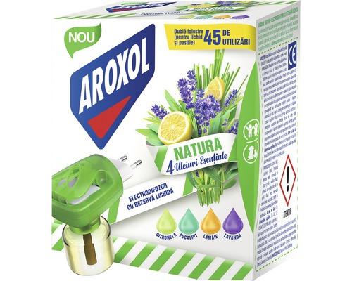 Aparat electric AROXOL Natura cu rezerva lichida, fara insecticid