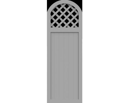 Element partial BasicLine tip Y 70 x 205/180 cm, gri argintiu