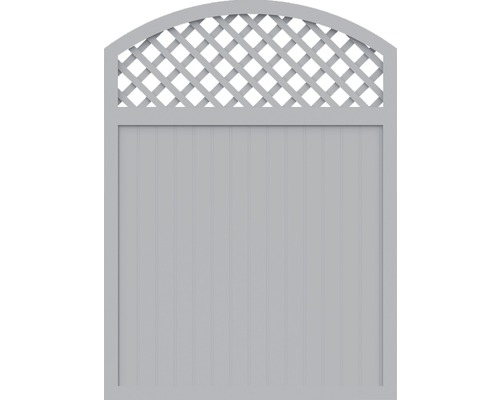 Element principal BasicLine tip X 150 x 205/180 cm, gri argintiu