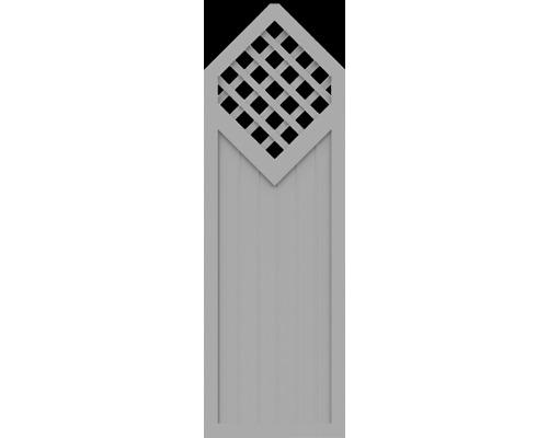 Element partial BasicLine tip D 70 x 215/180 cm, gri argintiu