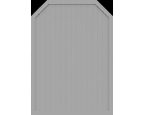 Element principal BasicLine tip J 150 x 210/180 cm, gri argintiu