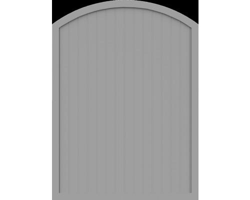 Element principal BasicLine tip F 150 x 205/180 cm, gri argintiu