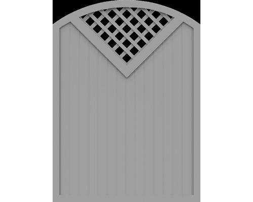Element principal BasicLine tip G 150 x 205/180 cm, gri argintiu