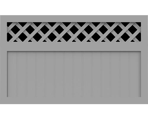 Element principal BasicLine tip K 150 x 90 cm, gri argintiu