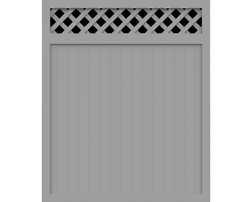 Element principal BasicLine tip C 150 x 180 cm, gri argintiu
