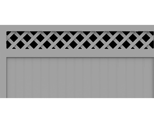 Element principal BasicLine tip N 150 x 120 cm, gri argintiu