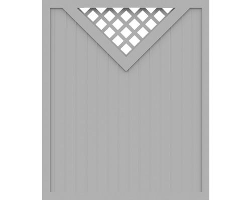 Element principal BasicLine tip B 150 x 180 cm, gri argintiu