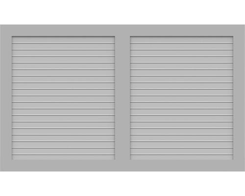 Element principal BasicLine tip W 150 x 90 cm, gri argintiu