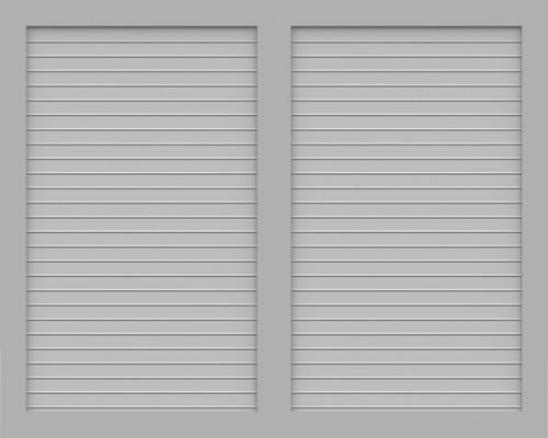 Element principal BasicLine tip V 150 x 120 cm, gri argintiu