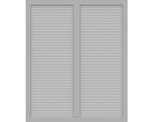 Element principal BasicLine tip S 150 x 180 cm, gri argintiu