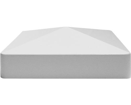 Capac stalp 8,7 x 8,7 cm, gri argintiu