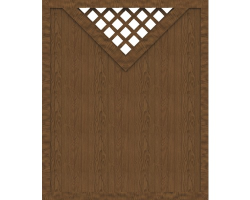 Element principal BasicLine tip B 150 x 180 cm, Golden Oak