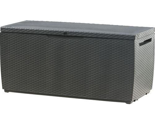 Lada depozitare, plastic, 54x123x57 cm, antracit