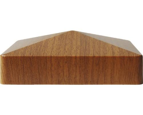 Capac stâlp 8,7 x 8,7 cm, Golden Oak