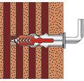 Dibluri plastic cu carlig Fischer DuoPower 6x30 mm, 6 bucati