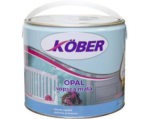 Vopsea mata Köber Opal turcoaz 2,5 l