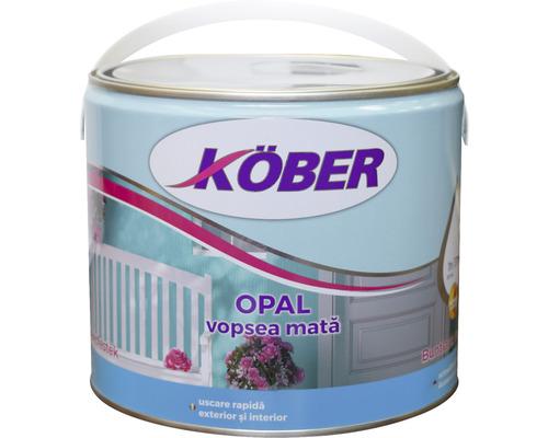 Vopsea mata Köber Opal verde 2,5 l