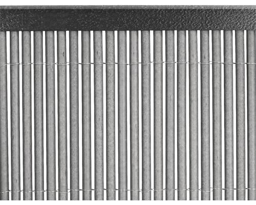 Profil U din PVC 1,5 m, antracit