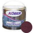 Email anticoroziv cu efect de lovitura de ciocan Köber hammer rosu Bordeaux 2,5 l