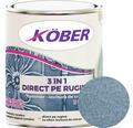Email anticoroziv cu efect de lovitura de ciocan Köber hammer albastru luminos 0,75 l