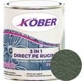 Email anticoroziv cu efect de lovitura de ciocan Köber hammer verde luminos 0,75 l