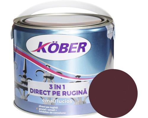 Email lucios anticoroziv 3 in 1 Köber rosu vin 2,5 l
