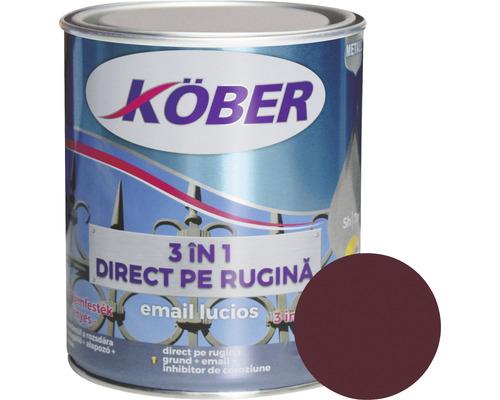 Email lucios anticoroziv 3 in 1 Köber rosu vin 0,75 l