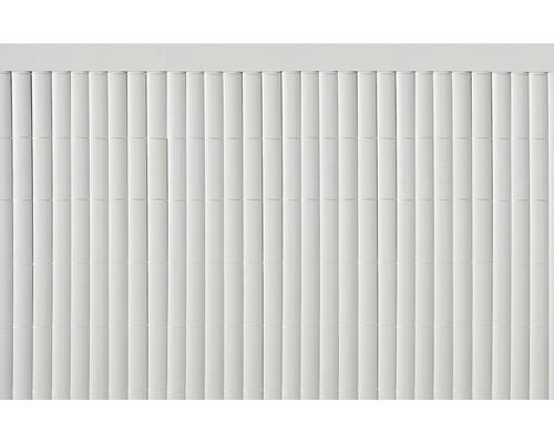Profil U din PVC 1,5 m, alb