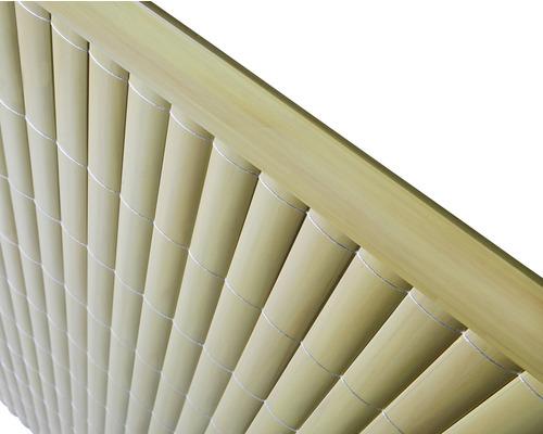 Profil U din PVC 1,5 m, bambus