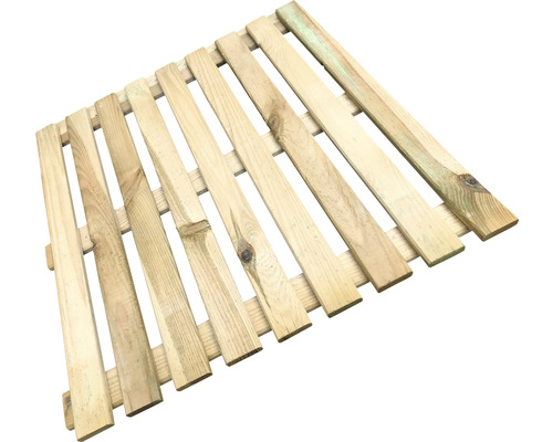 Dală din lemn 50x50 cm, impregnată în autoclavă