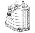 Pompa submersibila Gardena Aquasensor, 320 W, 9000 l/h, H 7 m
