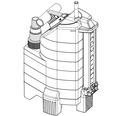 Pompa submersibila Gardena Aquasensor, 650 W, 13000 l/h, H 8 m