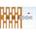 Dibluri plastic cu carlig Tox Pirat Barbossa 8x40 mm, pachet 4 bucati