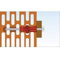 Dibluri plastic cu surub Tox Tri 12x71 mm, pachet 2 bucati