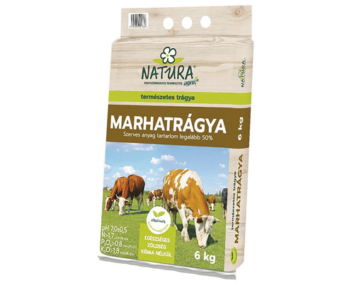 Gunoi de grajd de vaca Natura 6 kg