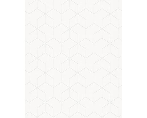 Tapet vlies 9380 Patent Decor, model grafic 3D, alb 25x1,06 m