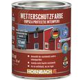Vopsea de protectie a lemnului impotriva intemperiilor Wetterschutz alba 2,5 l