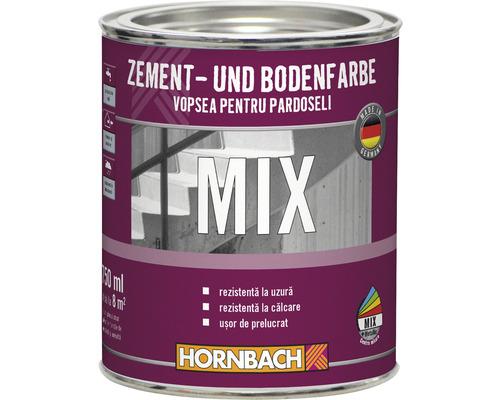 Vopsea pentru ciment si pardoseli in nuanta dorita 750 ml (baza C)