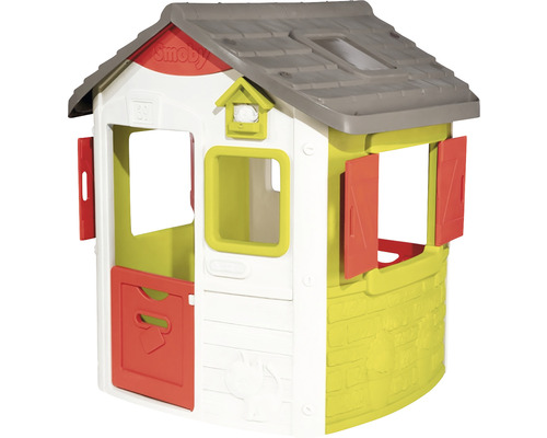 Casuta pentru copii Smoby Neo Jura Lodge Playhouse 123,3x115,4x132 cm