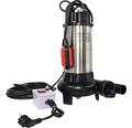 Pompa submersibila cu tocator, 1100 W, 16020 l/h, H 9 m