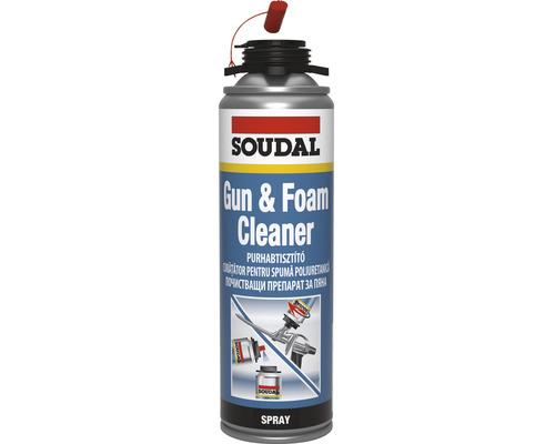 Spray Soudal curatator spuma poliuretanica 500 ml