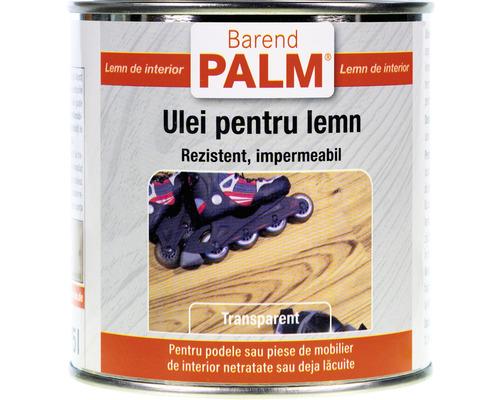 Ulei pentru lemn Barend Palm transparent 375 ml