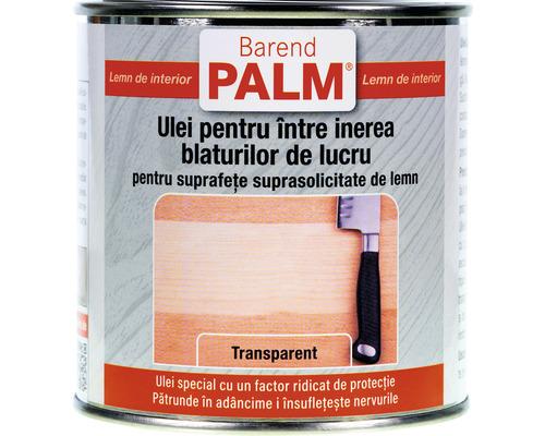 Ulei pentru blaturi de lucru si jucarii Barend Palm transparent 375 ml