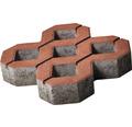 Dală beton grilă roșu 40x40x8 cm