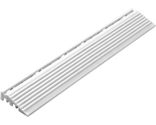 Element lateral pentru pavaj click 1,8x6,2 cm 4 bucăți, alb