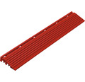 Element lateral pentru pavaj click 1,8x6,2 cm 4 bucăți, roșu