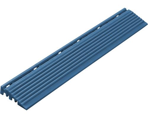 Set de elemente laterale pentru pavaj click 408x6,2 cm 4 bucăți, albastru