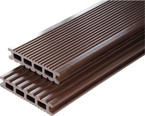 Profil terasă Konsta ciocolatiu WPC 25x145x1000 mm