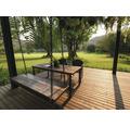 Lemn terasă 27x120x2500 mm pin maro